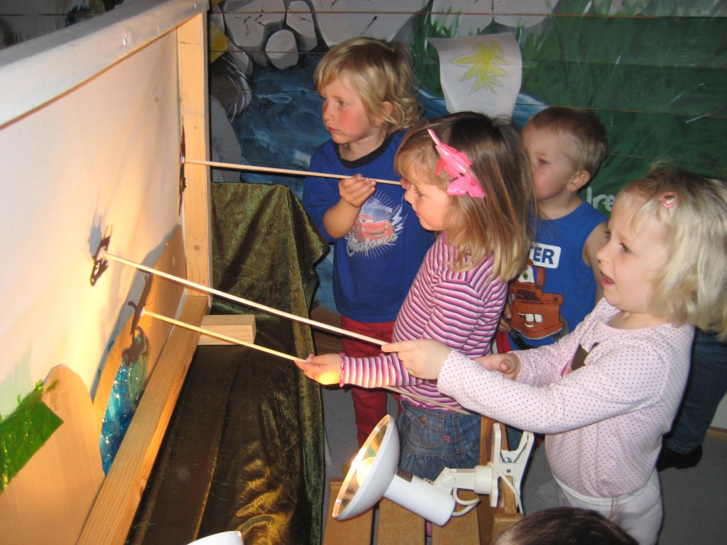 Barna prøver skyggeskjerm